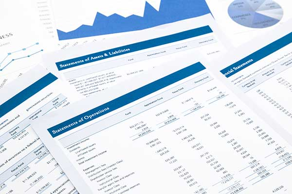 business forms and statements