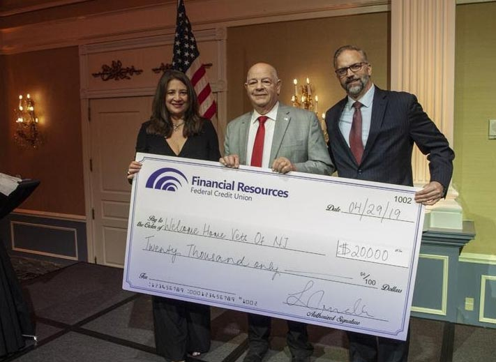 Lena Matthews, Former President and CEO of FRFCU, Val DiGiacinto of WHVNJ, Frank Almeida, current CEO and President of FRFCU