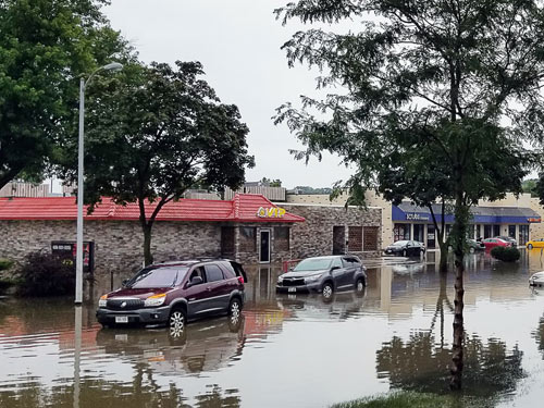 small businesses hit by flooding