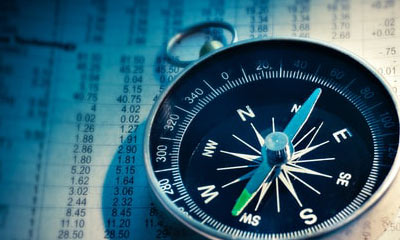 compass over stock market report