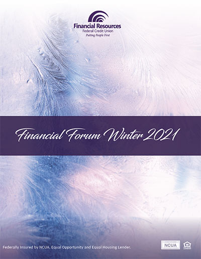 january 2021 financial forum cover